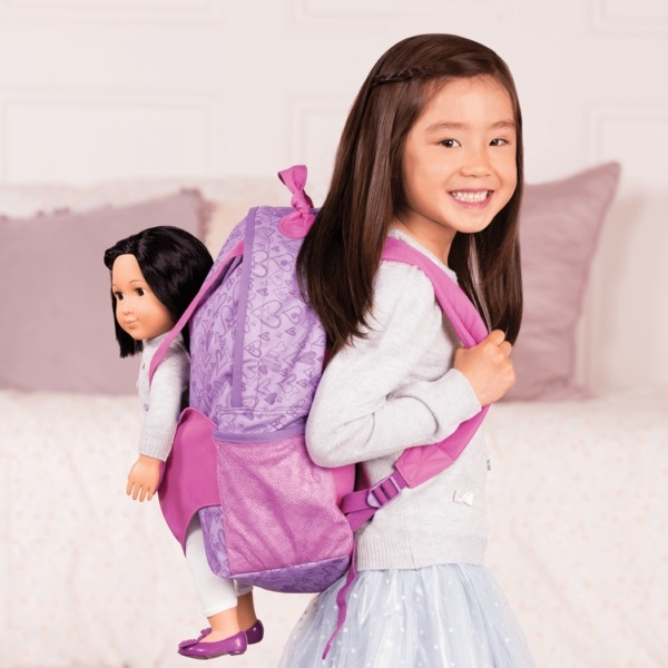 Рюкзак фіолетовий