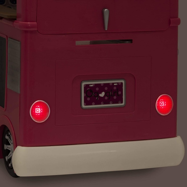 Our Generation Pink Food Truck accessory set